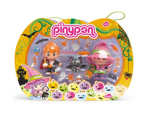 Famosa-Pinypon-700009686-Pack-brujas-2-muecos-Pinypon-y-1-animal