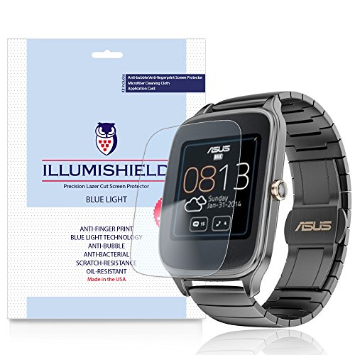 illumishield-asus-zenwatch-2-49mm-screen-protector-hd-blue-light-uv-filter-premium-clear-film-anti-f