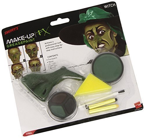 Smiffy's Witch Make Up Kit Facepaint Nose by Smiffy's