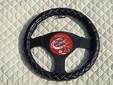 R–Convient pour Mitsubishi Outlander Phev de voiture, Housse de volant, Bentley Stitch SWC 51Medium