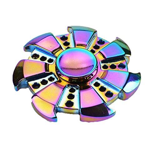 Preisvergleich Produktbild Saingace Fidget Spinner Tri-Spinner Fidget Hand Spinner Camouflage Multi-Color, EDC Focus Spielzeug für Kinder & Erwachsene
