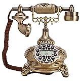 JapanAttitude Telefon Viktorianischer Luxuriöse Farbe Gold Steampunk Vintage Boudoir Chateau