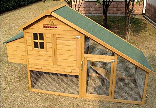 Pets Imperial® - 190cm Poulailler Sandringham - Jusqu'À 4 Poules - Système De Verrouillage Innovant - 2
