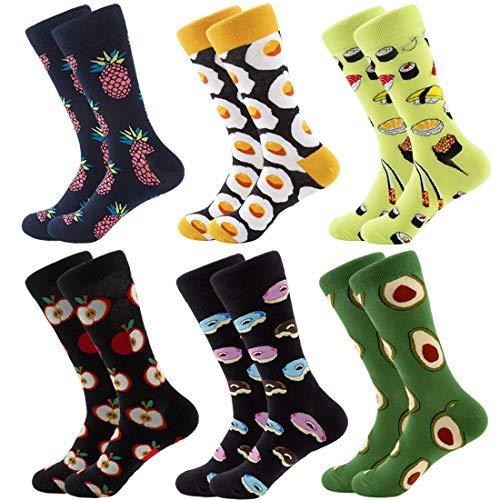RedMaple Calcetines coloridos hombre - calcetines