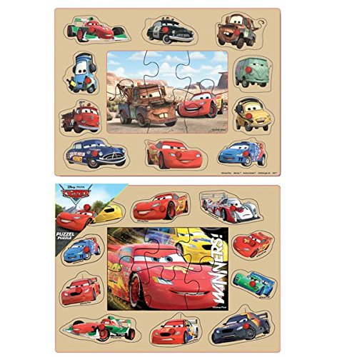Image of Disney 0625003 Cars Wooden Puzzle