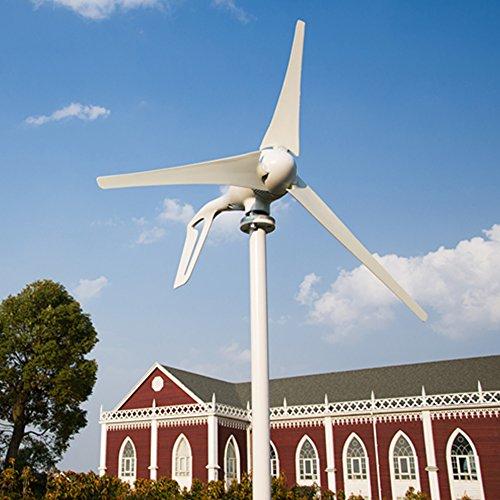 d695fbd2f5a Vogvigo Aerogenerador DC 12V 24V Turbina eólica Alta eficiencia Generador  de turbinas eólicas 100W