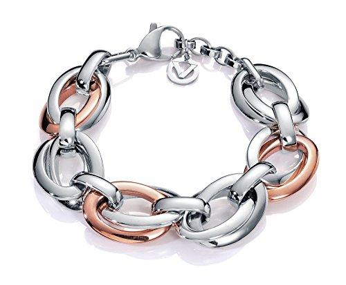 Pulsera de mujer de Viceroy Fashion en acero bicolor 6420P09019