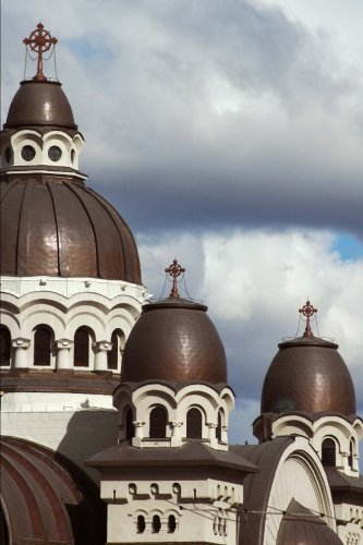 roman-catholic-church-in-targu-mures-romania-journal-150-page-lined-notebook-diary