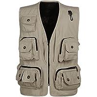 GDS/Multi bolsillo chaleco vest. recreativas pesca chaleco. XinHua Director chalecos de al aire libre, 1-XXL