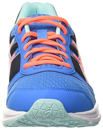 Asics Patriot 8, Chaussures de Tennis Femme Multicolore (Diva Blue/flash Coral/aqua Splash)