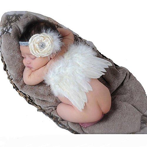Engel Tutu Zubehör Kit - kaluori Baby Mädchen Haarband AVC die