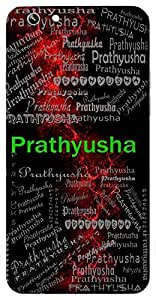 Prathyusha (Sunrise) Name & Sign Printed All over customize & Personalized!! Protective back cover for your Smart Phone : Samsung I9100 Galaxy S II ( S-2 )