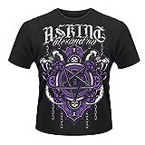 Plastic Head Herren T-Shirts Asking Alexandria Demonic Mit Aufdruck - Schwarz - Schwarz - xl (Herstellergröße: X-Large)