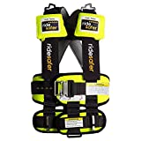 Ride Safer Delight Travel Vest, Large Yellow - No Tether or Neck Pillow