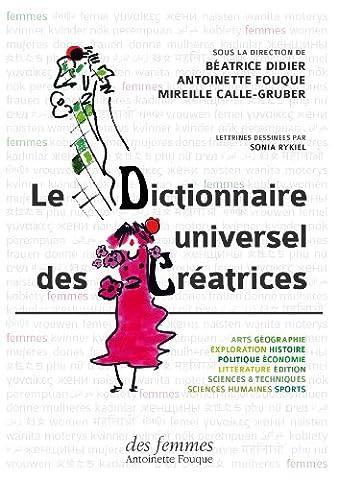 Le Dictionnaire universel des créatrices : Coffret en 3 volumes
