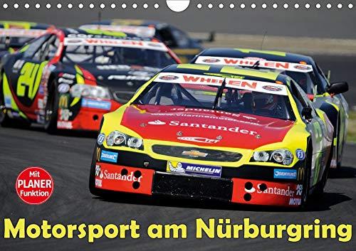 Motorsport am Nürburgring (Wandkalender 2020 DIN A4 quer): Actionszenen und PS-Boliden für echte Rennsport-Fans (Geburtstagskalender, 14 Seiten ) (CALVENDO Sport)