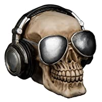 Kenzies Gifts Horror Movie Fans Must Have - Skull with Headphones & Sunglasses Money / Savings Bank