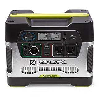 Goal Zero - Générateur solaire 23000Yeti 400 Yeti 400 1 couleur