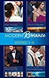 Modern Romance Collection: November 2017 Books 1 - 4 (Mills & Boon e-Book Collections) (One Night With Consequences)