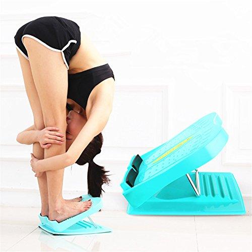 FJROnline Steigung Boards und Wade/Knöchel Keilrahmen, tragbar Slant Board verstellbar Fuß Stretch Keil Board für Achillessehne Achilles Bein Muskeltraining