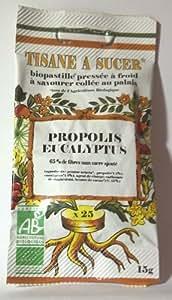 Biopastilles Tisane à Sucer Propolis et Eucalyptus Bio