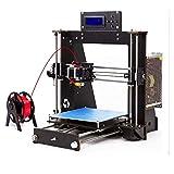 3D Drucker, ColorFish Prusa i3 MK8 Düse Hohe Präzision Selbst Zusammenbauende Desktop DIY 3D Druckers mit 1.75mm ABS/PLA Filament, Druckgröße (200 * 200 * 180 mm) (Prusa i3)