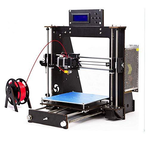 DIY Impresora 3D,ColorFish Prusa i3 MK8 Boquilla de Alta Precisión Autoensamblado Desktop DIY 3D Impresoras con 1,75 mm ABS/PLA filamento, Tamaño de Impresión (200 * 200 * 180 mm) (Prusa i3)