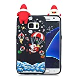 Forhouse Phone Hülle für Samsung Galaxy S7 Hülle Backcover Protective Shell Back Bumper Cover [ Black ]