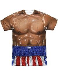 Rocky - T-shirt - Manches Courtes - Opaque - Homme blanc blanc -  blanc -