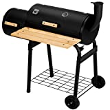 KING BBQ Smoker Charcoal Barbecue Grill Heat Indicator Portable Garden