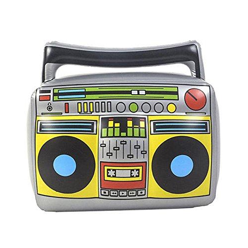 Aurora Inflatable Instruments Air Mikrofon/Saxophon/Trommel/Keyboard/Radio Spielzeug Blow Up Part