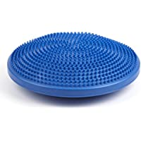 PhysioRoom NEW Air Stability Wobble Balance Rehab Cushion 35cm - ADHD, Improves Posture, Core Training, Anti-Slip Surface, Supports Muscle, Comfortable, Encourages Active Sitting for Kids, Child Friendly - AB305107