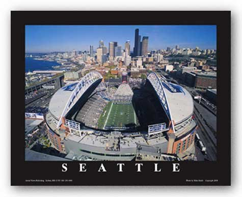 seattle-washington-qwest-field-seattle-seahawks-de-mike-smith-aerial-views-tirages-dart-poster