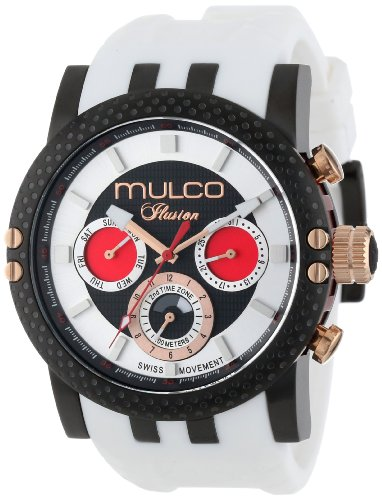 MULCO Unisex MW3-11169-015 Lincoln Illusion Chronographe Analogique Swiss MoveHommet Montre