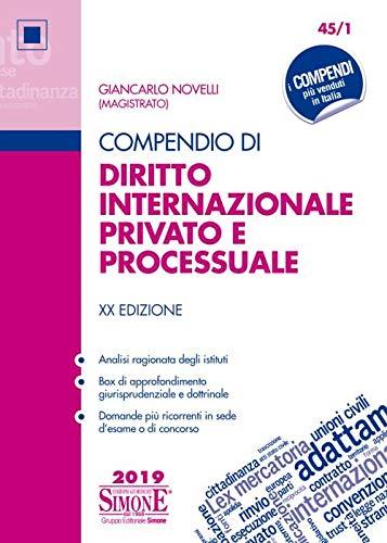 Compendio di diritto internazionale privato e
