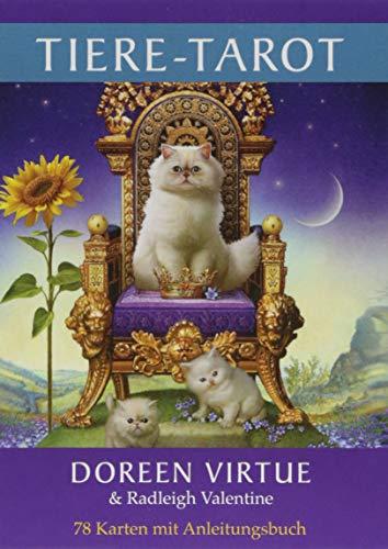 Tiere-Tarot: 78 Karten mit Anleitungsbuch -