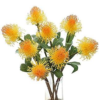 Whiie891203 Flores Artificiales Falsas Plantas, Flores Artificiales Arreglos Escénicos Ramos De Boda Decoraciones Centros De Mesa Florales para El Hogar Cocina Jardín Fiesta Tumba Decoración DIY