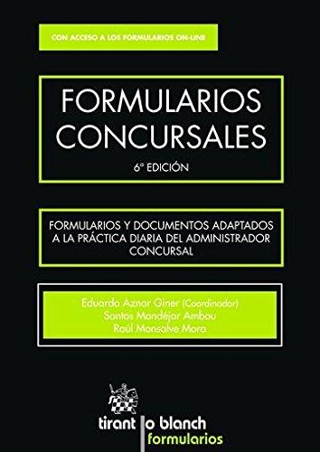 Formularios Concursales 6 Edición 2016