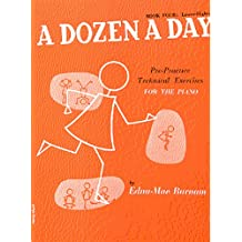 A Dozen a Day Volume 4 (Orange) - Piano