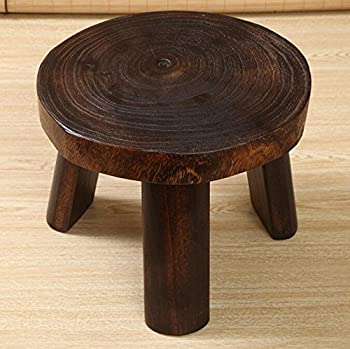 Wooden Stools Foot Stools Chairs Wooden Stool Children Seat Stool Creative Home Sofa Table Stool Antique Style Gift,tuba 3