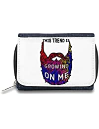 This Beard Is Growing On Me Monedero de Cremallera Bolso Zipper Wallet| The Stylish Pouch To Keep Everything Organized| Ideal For Everyday Use & Traveling| Authentic Accessories By Hamerson