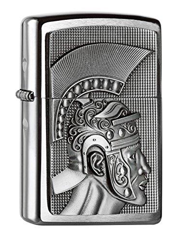 Zippo 2.004.662 Feuerzeug Roman Emblem, Spring 2015, satiniert