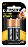 #9: Duracell Alkaline AA Battery with Duralock Technology - 2 Pieces