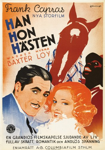 Movie Poster (27 x 40 Inches - 69cm x 102cm) (1934) (Broadway Bill-movie Poster)