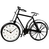 alles-meine.de GmbH Große Tischuhr / Standuhr -  Fahrrad  - aus Metall - 40 cm Uhr - für Kinder ..