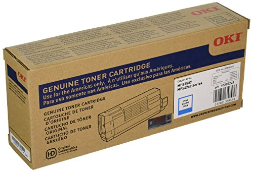 Serie 10000 Page-yield (Okidata Cyan 10000 Page Yield Toner Cartridge for MPS3537MC MPS4242MC Series 45396223 by Oki Data)