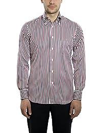 Dan Roma Camisa Deportiva para Hombre Modelo Exclusivo 2 Botones 100%  algodón fc5e86a59088a