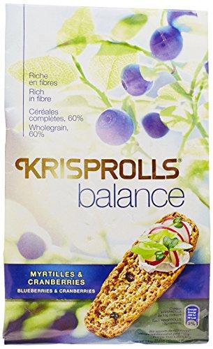KRISPROLLS Balance Myrtille Cranberry 165 g