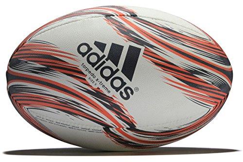 adidas Torpedo X-Treme Rugbyball, White/Collegiate Navy/Scarlet, 5 Preisvergleich