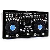 Ibiza FULL-STATION DJ-Mixer, Schwarz